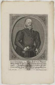 Bildnis des Iohan. Onuphrius I., Freiherr zu Schwarzenberg
