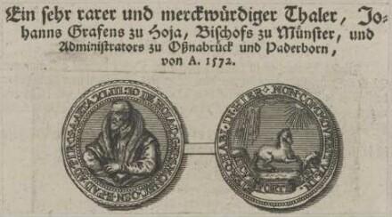 Bildnis des Johann von Hoya