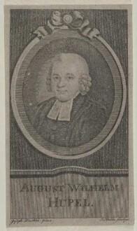 Bildnis des August Wilhelm Hupel