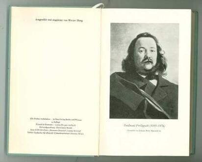 Porträt von Ferdinand Freiligrath (Gemälde von Johann Peter Hasenclever)