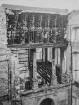 Ruine des Japanischen Palais. Elbflügel mit Regalflächen der Sächsischen Landesbibliothek