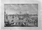 Rigaer Hafen mit Schiffbrücke