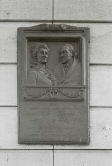 Gedenktafel für Elisa von der Recke und Christoph August Tiedge