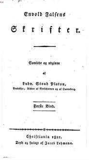 Skrifter. 1 (1821)