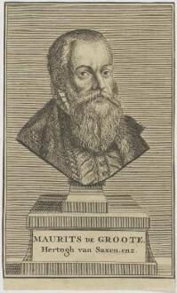 Bildnis Maurits de Groote, Hertogh van Saxen