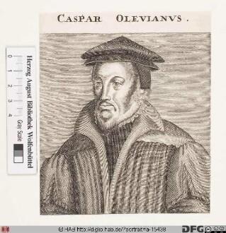 Bildnis Caspar Olevianus