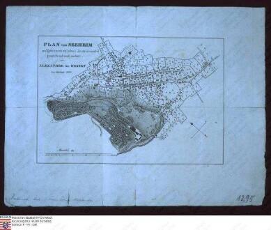 Stadtplan von Seeheim