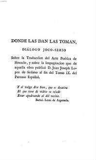 Coleccion De Obras En Verso Y Prosa. 6, Comprehende varias obras criticas