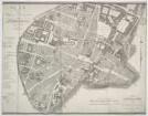 Plan von München, 1:1 700, Radierung, 1806