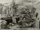 Manfreds Begräbnis nach Dante