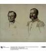 "Hofrat E. Dohme, Hofrat Schulz. Studie zum Gemälde ""Krönung Wilhelms I. in Königsberg"""