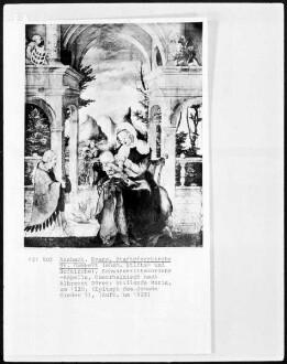 Stillende Maria (Epitaph des Johann Sieder?)