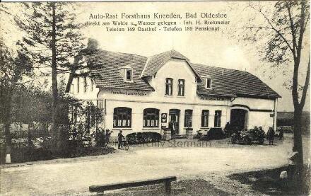 """Auto-Rast """"Forsthaus Kneeden"""""""