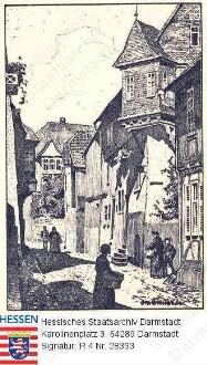 Lich, Schlossgasse
