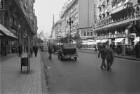 """Reisefotos Argentinien. Stadtbilder Buenos Aires. Straße mit Gebäude """"Aproz Gallo"""""""