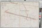 Lippe-Seitenkanal - Blatt 5 Lageplan - km 8,74 - 10,81 - 1908 - 1 : 2500 - 67,5 x 99 - farb. Druck - Königliche Kanalbaudirektion - Regierung Arnsberg