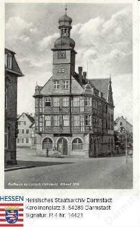 Lorsch an der Bergstraße, Rathaus / Außenansicht