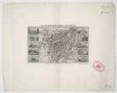 Plan und Ansichten von München, 1:20 000, Stahlstich, um 1840