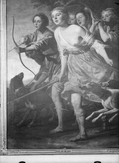 Diana auf der Jagd