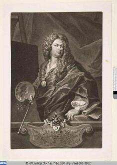 Der Maler Johann Rudolf Huber