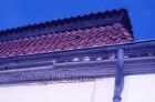 Blumendorf: Gut: westliches Torhaus: Dach Südost-Ecke