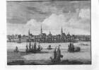 Ansicht von Riga an der Düna