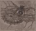 Plan der Befestigung von Breisach, 1:21 500, Kupferstich, um 1710