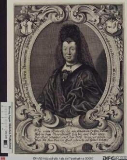 Bildnis Magdalena Barbara Avemann, geb. Kohlhans