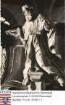 Lich, Stiftskirche / Kanzelfigur Bernhard von Clairvaux, zwei Aufnahmen