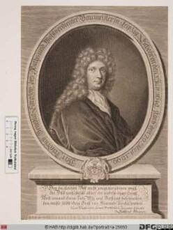 Bildnis Friedrich Benedict Carpzov d. Ä.