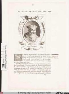 Bildnis Sebastiano Luciani (de Lucianis), gen. del Piombo