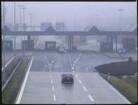 Grenzübergang Gudow-Zarrentin an der Transitautobahn Hamburg - Berlin, von Niedersachsen aus. Abfertigungsbereich für PKW