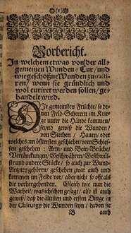 25 sonder- und wunderbare Schuß-Wunden Curen ...