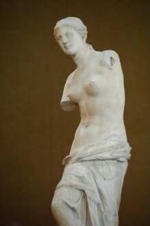 Venus von Milo, griechische Abteilung, Museum Louvre