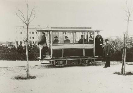 Berlin, elektr. Straßenbahn, Großlichterfelde