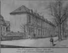 Das K. Kunstakademiegebäude 1814-1893 in Dresden