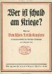 Wer ist schuld am Kriege?: Rede des Deutschen Reichskanzlers im Hauptausschusse des Deutschen Reichstages am 9. November 1916