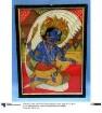 Gott Vishnu auf der Schlange Ananta