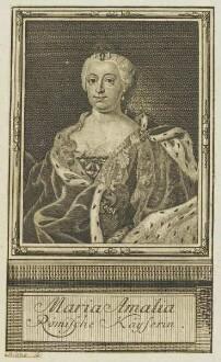 Bildnis der Maria Amalia, Römische Kayserin