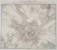 Plan von Dresden, 1:12 000, Kupferstich, um 1820