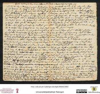 Philosophisches Konzept: Autograf von Immanuel Kant aus dem Duisburgschen Nachlass