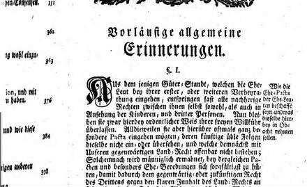 ˜Desœ Kayserlichen Hochstifts und Fürstenthums Bamberg verfaßtes Land-Recht : desselben erster Haupt-Theil von Civil- oder sogenannten Bürgerlichen Sachen handelnd