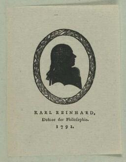 Bildnis des Karl Reinhard