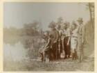 Königswartha, Gruppenbild mit Rudolf Zimmermann u.a. bei einem Ausflug zu Pfingsten 1932 an die Teiche