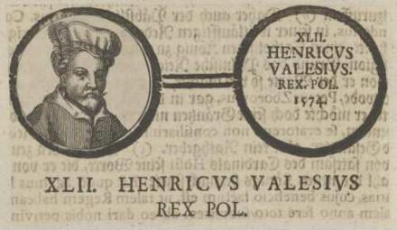 Bildnis des Henricus Valesius