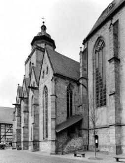 Walpurgiskirche von Südosten