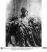 Kaiser Menelik II im großen Staatsgewand (1889-1913)