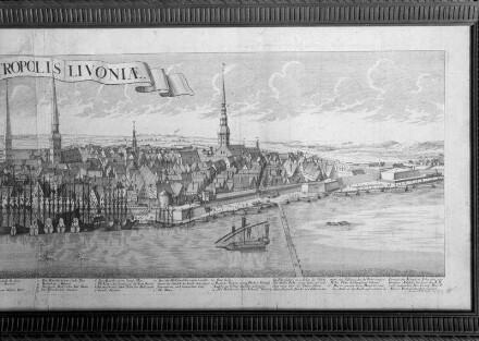 Ansicht von Riga