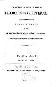Oekonomisch-technische Flora der Wetterau. 3,2