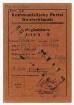 """Mitgliedskarte Nr. 484409 der Kommunistischen Partei Deutschlands für Victor Klemperer, ausgestellt am 13.12.1945. Vorderseite mit Stempelaufdruck """"ungültig"""""""